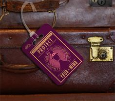 Fantastic Beasts and Where To Find Them - Luggage Tag http ...