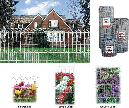 ornamental looped Fencing | Hutchison Inc. - Old House Journal ...