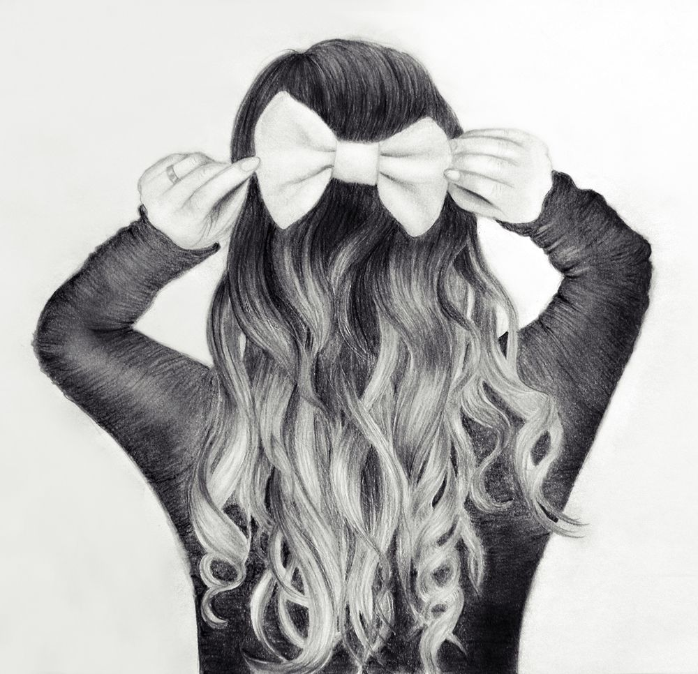 girl hair drawing tumblr - google search … | hair in 2019…