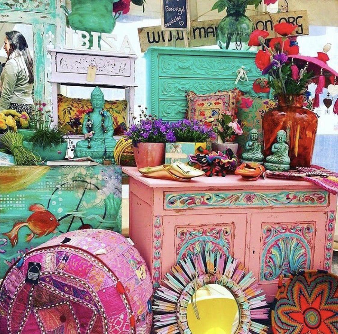 Pin De Coqui De Vicente En Colors Pinterest Ideas De  # Muebles Bohemia