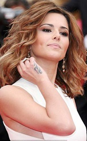 Cheryl Cole Tribal Design Side of Hand Tattoo | Steal Her ...