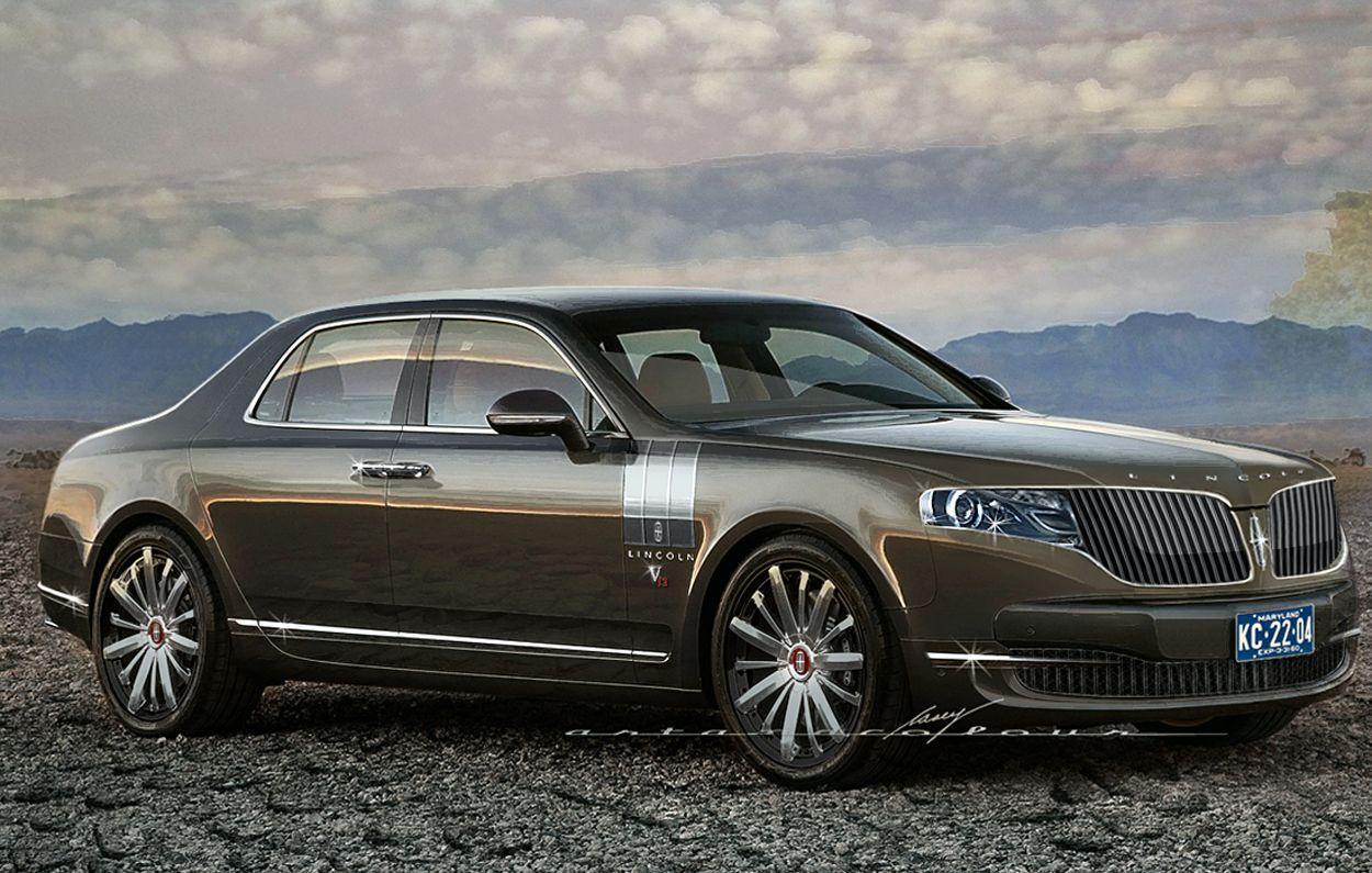 New Lincoln Continental 2014 Artandcolour Cars 2014 Lincoln