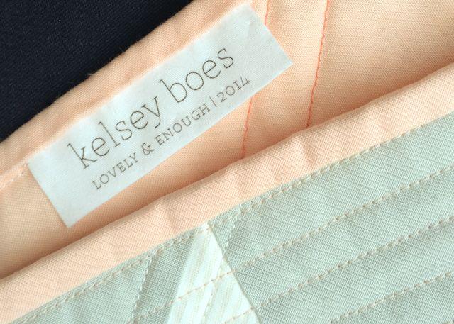 DIY Quilt lables - Tutorial etiquetas de tela