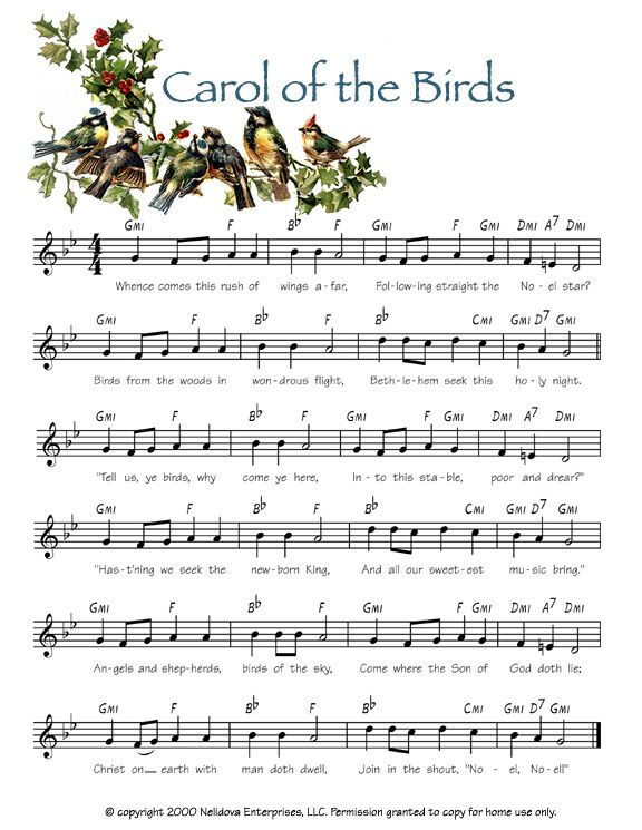 Gather the Family with Joyous Christmas Sheet Music for Kids ...