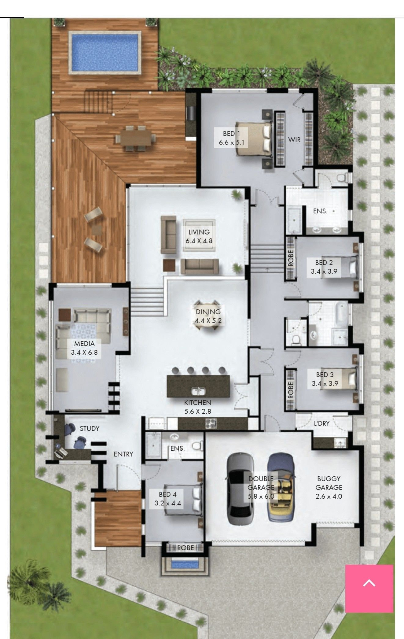 Pin By John Nelson On Small Homes Sims House Plans Modern House Plans House Layouts