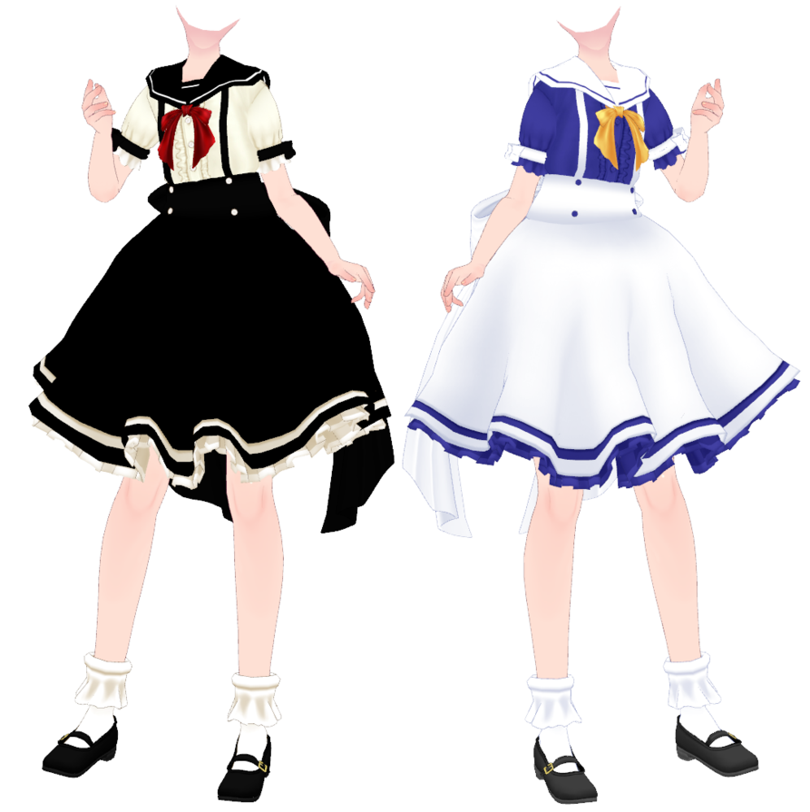 Mmd Tda Outfit 2 Download By Moyonote Mmd Model Outfits Model