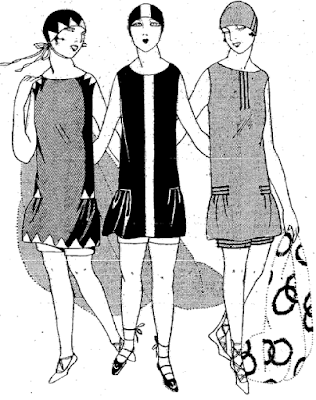 The Vintage Pattern Files Free 1920s Sewing Pattern Swimming