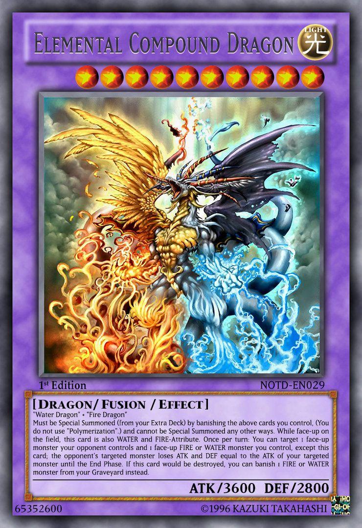 Elemental compound dragon by lightkeyblademaster on