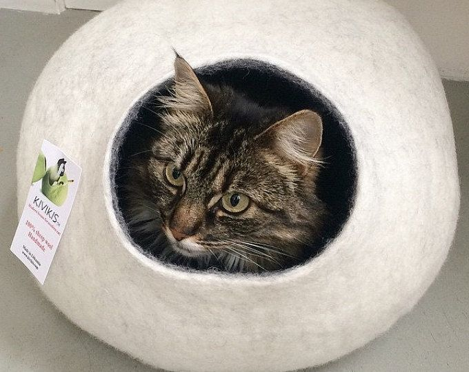 Outdoor Indoor Cat Shelter Cabin Safe House Etsy In 2021 Cat Cave Cat Bed Outdoor Cat House