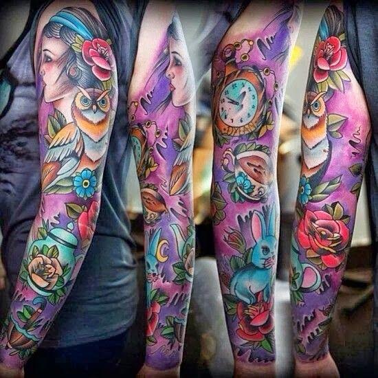 Gothic Tattoo Sleeve Google Search Hinh Xăm Hinh Xăm Mau Mẫu Hinh Xăm Tay