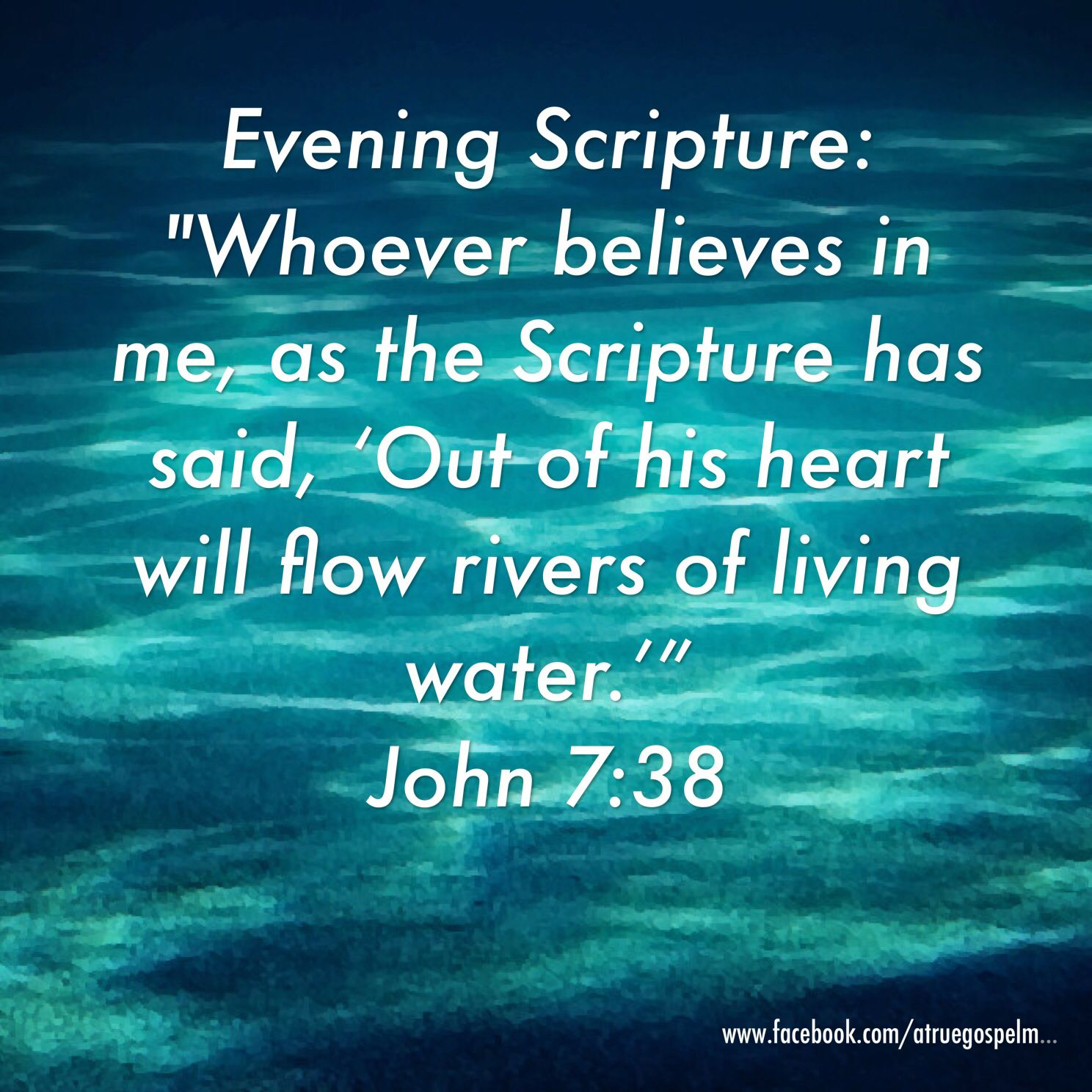Bible Quotes About Water and Life