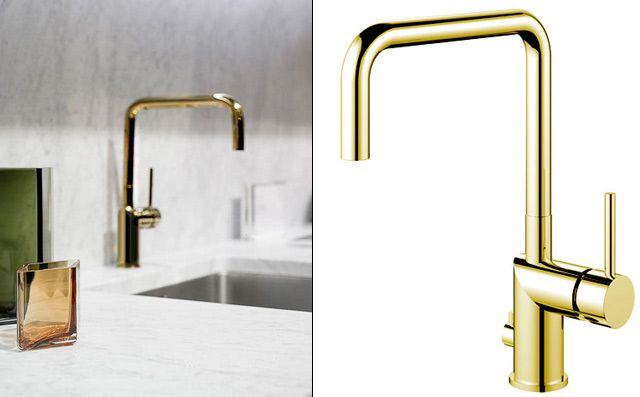 Kök köksblandare mässing : 17 Best images about Kök on Pinterest | Grey cabinets, Brass and Sinks