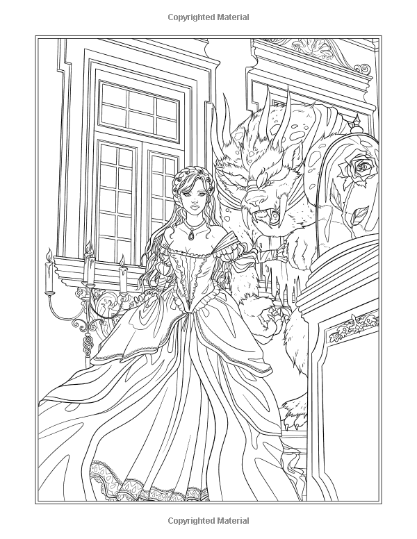 Fairy Tales Princesses And Fables Coloring Book Amazon Ca Selina Fenech Books Coloring Books Fairy Tales Colorful Art