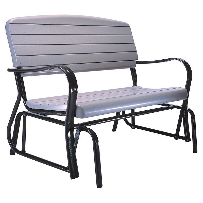 idea furniture amish glider inspiration with heart modern outdoor gliders bench patio