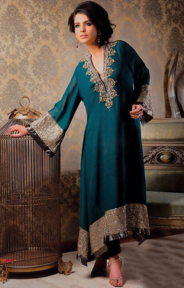 849316cbfa Dark Green Pakistani Bridal Dresses