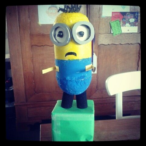 Minion surprise...made by Martijn...with a little help of daddy