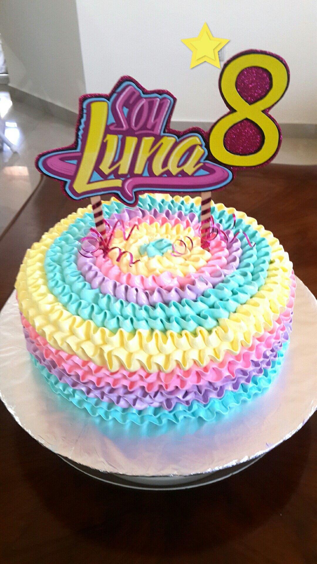 Torta Luna En 2019 Pastel De Soy Luna Pastel Soy Luna Y