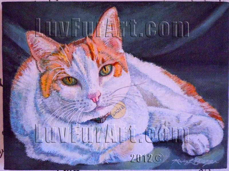 Sadie - Acrylic on Canvas