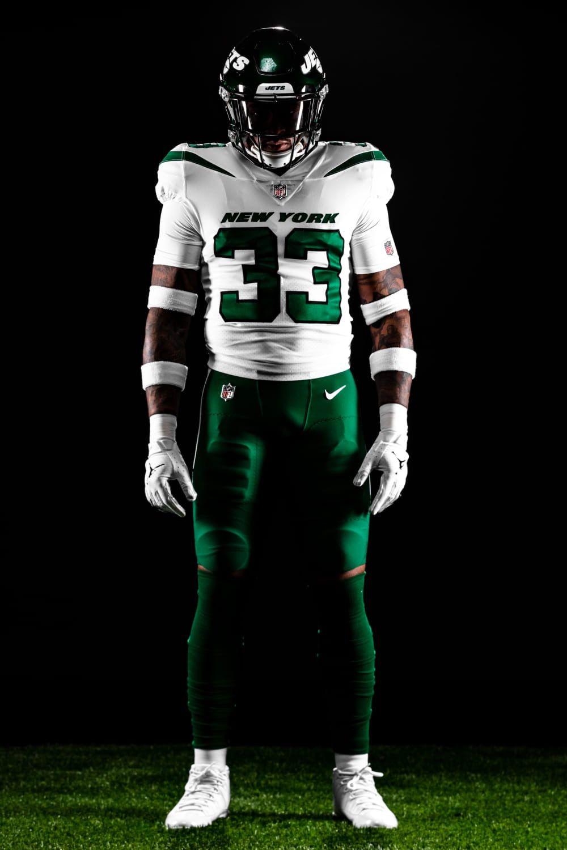 Spotlight White New York Jets Nfl Football 49ers Nfl Football