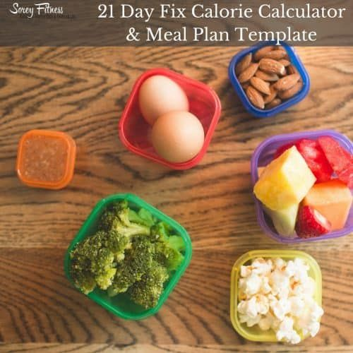 New 21 Day Fix Food List Printable - Plus 11 Simple Tips ...