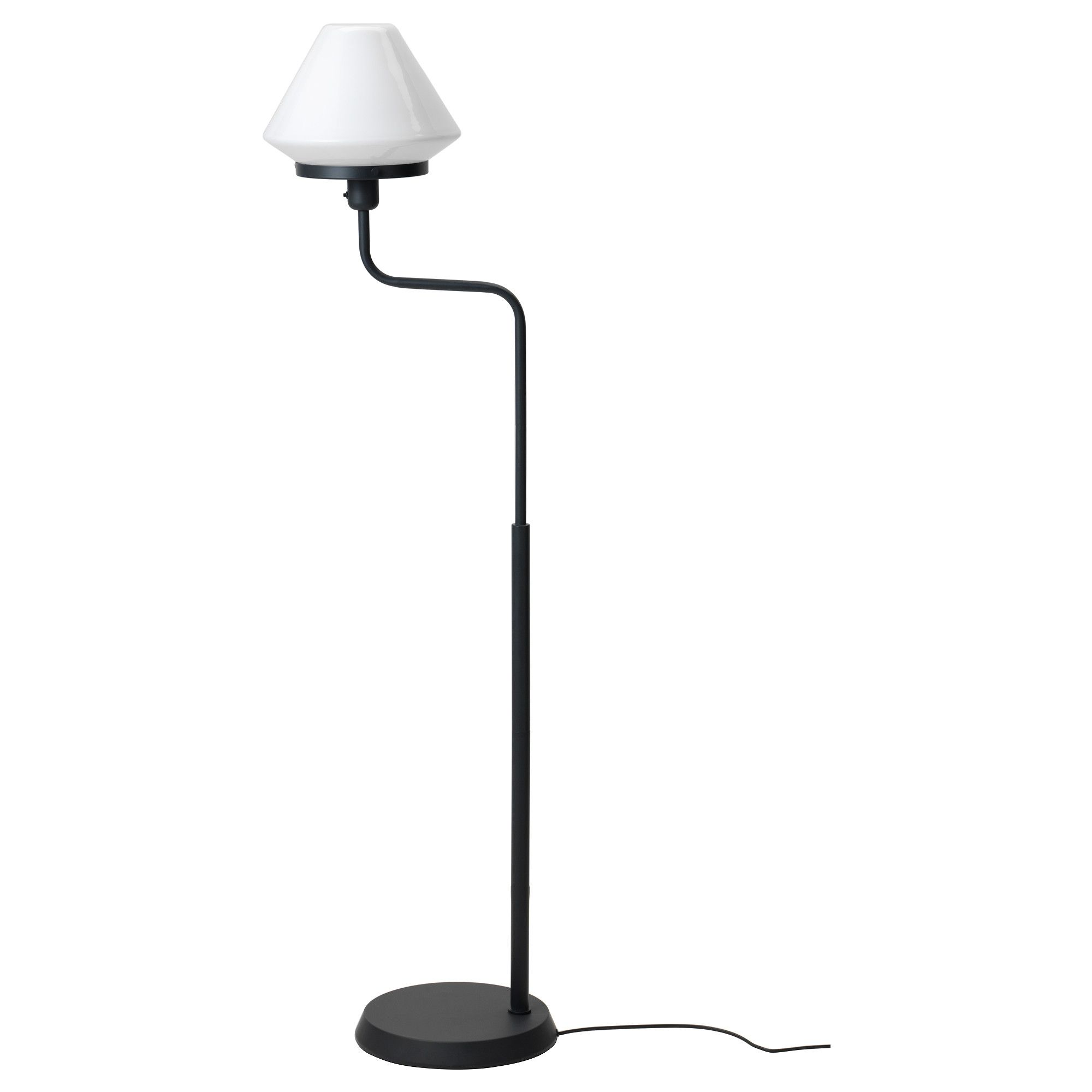 IKEA LVNGEN Floor lamp Gives a soft glowing light that
