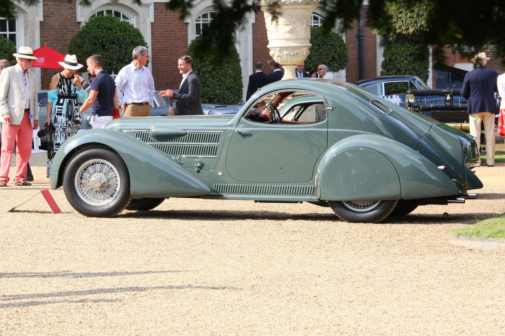1933/35 Lancia Astura Aerodinamica Castagna Coupe | Beautiful ...