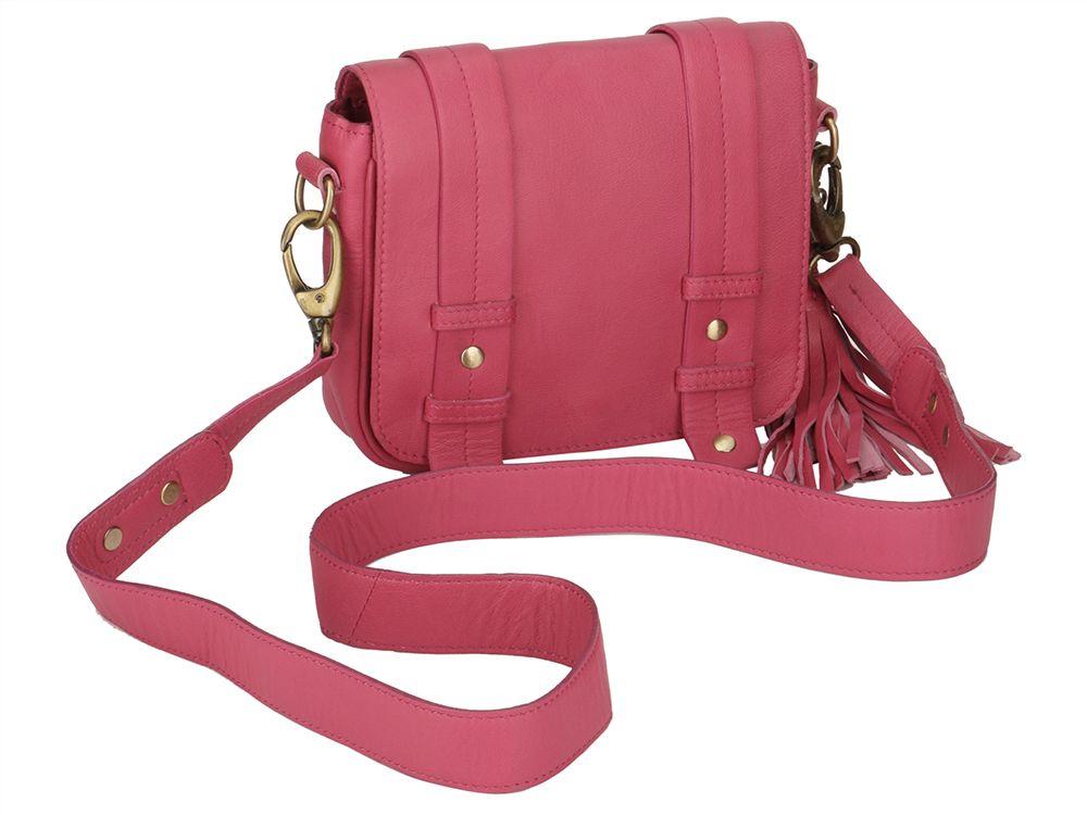 aacc0f0255b3 Pink Leather Tassel Bag  Bag  Ekatrra  Accessories  Clutch  Fancy  Partywear