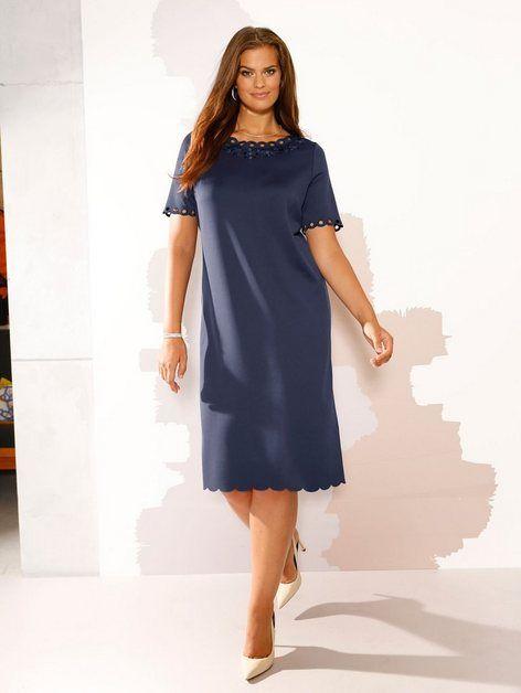 Photo of m. collection Kleid mit Überkleid aus floral bedrucktem Chiffon online kaufen   OTTO