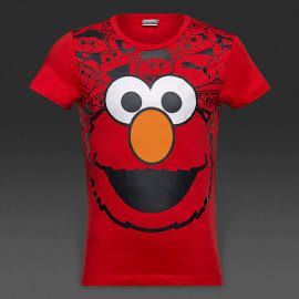 Puma Kids Sesame Street Tee High Risk Red