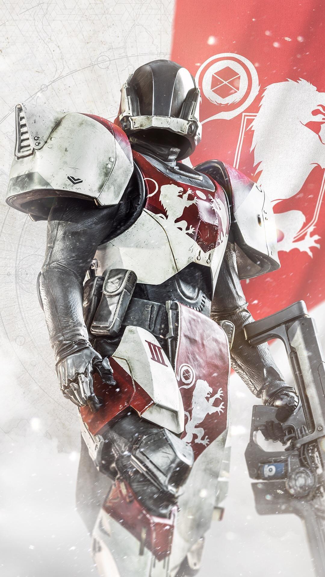 Destiny 2 Titan Smartphone Wallpaper Destiny Game Destiny Titans