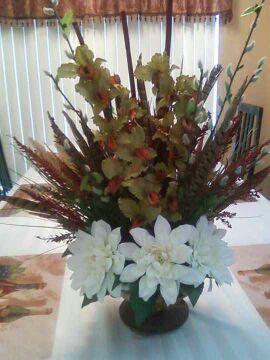 Flower centerpiece.