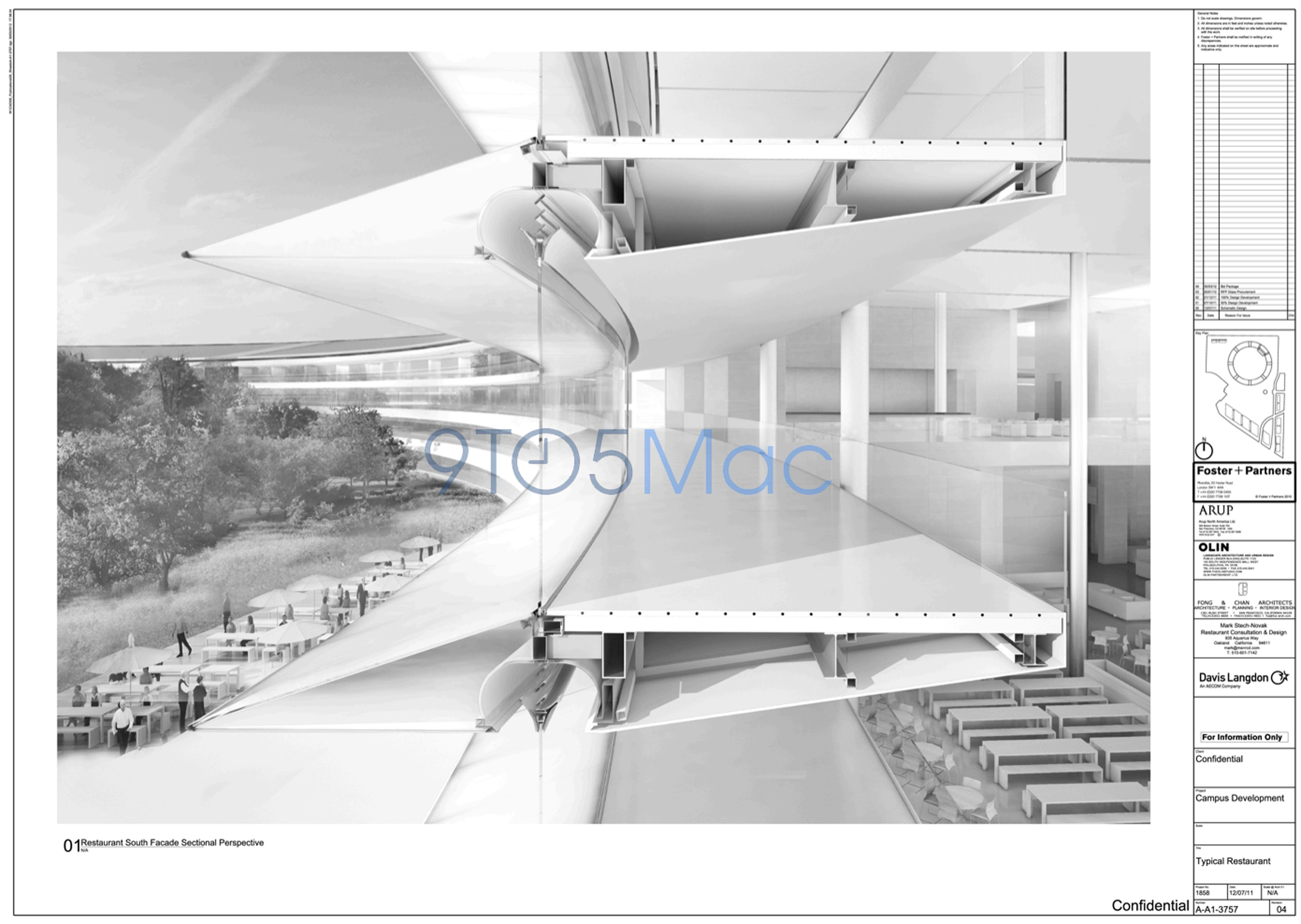 Facade New images of Apple s Campus 2 building show amazing detail