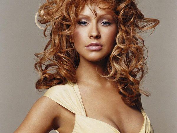 Christina Aguilera Free Music Cliggo Music Christina Aguilera Red Hair Hair Styles Christina Maria Aguilera