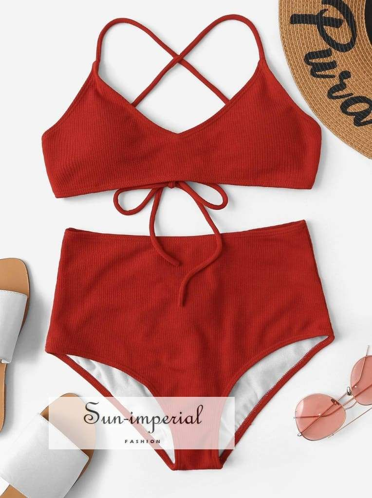 fb09a5abf10c9 Color: Red Type: Bikinis Waist Size (cm): S: 62-94 cm, M: 66-98 cm, L:  70-102 cm, XL: 74-106 cm Hip Size (cm): S: 76-94 cm, M: 80-98 cm, L: 84-102  cm, ...
