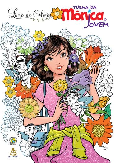 Livro de Colorir - Turma da Mônica Jovem