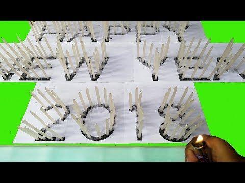 Advance Happy New Year 2018 Beautiful Candle Presentation - YouTube