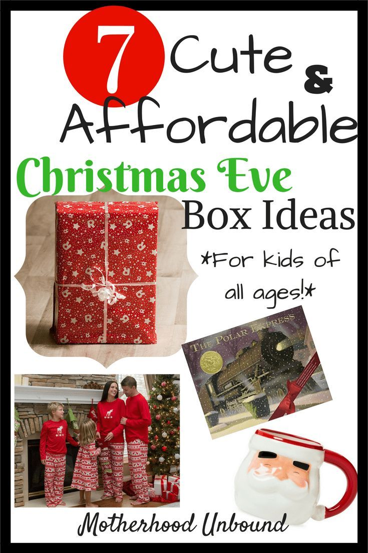 Christmas Eve Box Ideas for Kids of All Ages   Christmas eve box for kids, Christmas eve box ...