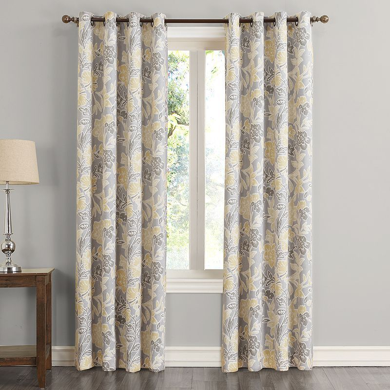 SONOMA Goods For Lifeac Amaya Blackout Curtain Grey