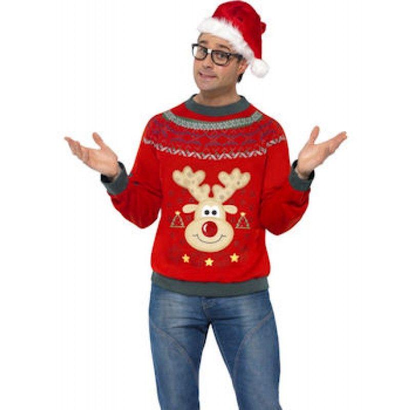 Christmas Jumper - Mens Costumes - Fancy Dress - Christmas