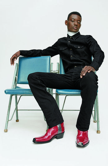 f984041df64eb Men s Calvin Klein 205W39Nyc Chris Western Metal Tip Boot