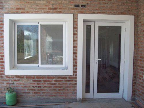 Aberturas de aluminio carpinteria puertas ventanas fabrica - Puerta balconera aluminio ...