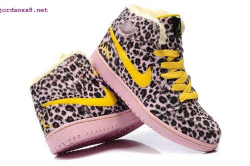 2a2dd303acba #Cheetah Print #Jordans 1 High Olympic Leopard Pink Charm Yellow #Pink