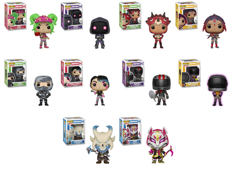 Fortnite Funko Pops Wave 2 With Images Funko Pop Dolls Funko