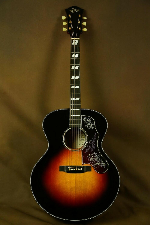 Martin Custom Super Jumbo Sunburst Acoustic Guitar Ebay Guitar Acoustic Guitar Acoustic