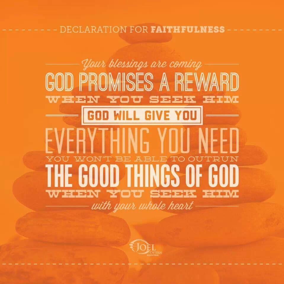 Declaration of Faithfulness