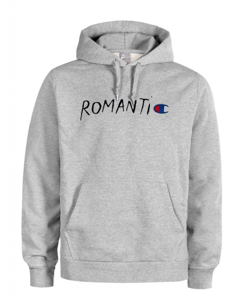 Romantic Champion Parody Hoodie 853x1024 Hoodies Champion Hoodie Champion Logo [ 1024 x 853 Pixel ]