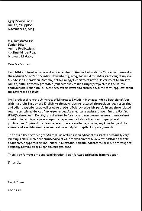 Exceptional Writing Of Application Letter