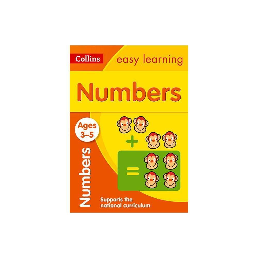 Numbers Ages 3 5 Collins Easy Learning Preschool Paperback Easy Learning Learning Preschool [ 1000 x 1000 Pixel ]