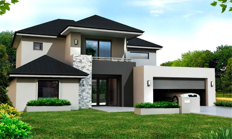 Exterior Double Storey House Modern House Design Contemporary House Plans