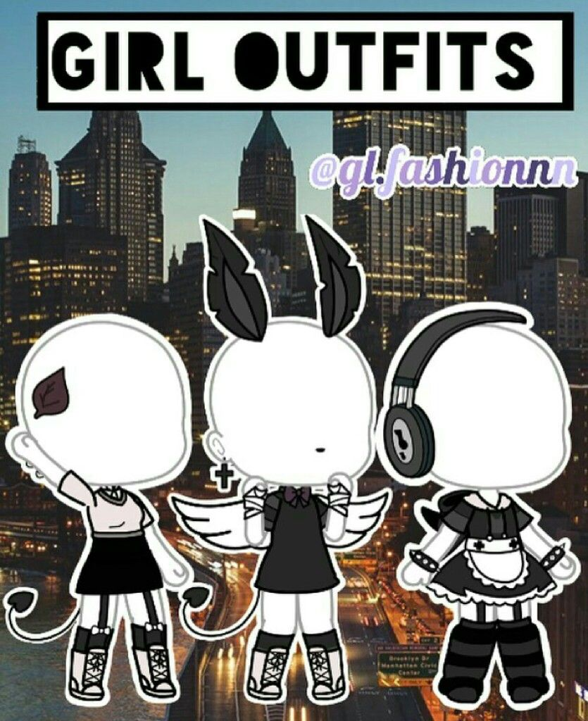 Cool Gacha Life Outfits : gacha, outfits, Gacha, Outfits, Character, Outfits,, Anime